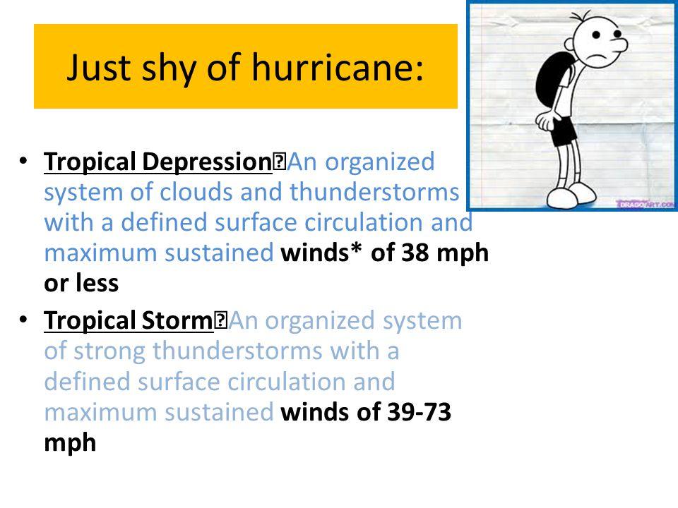 Just shy of hurricane: