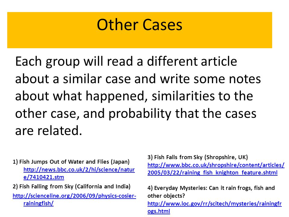Other Cases