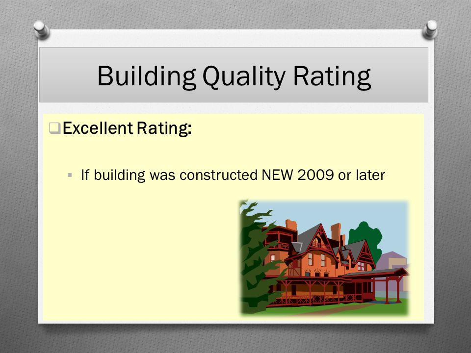 Building Quality Rating