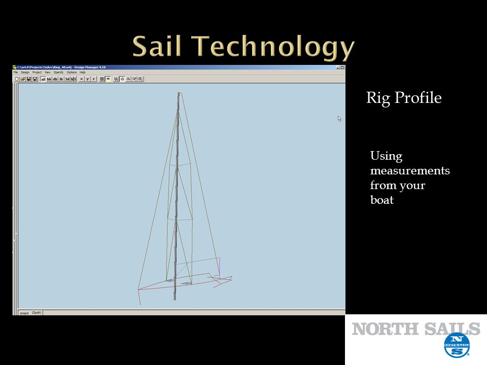 Sail Technology Rig Profile Using measurements from your boat