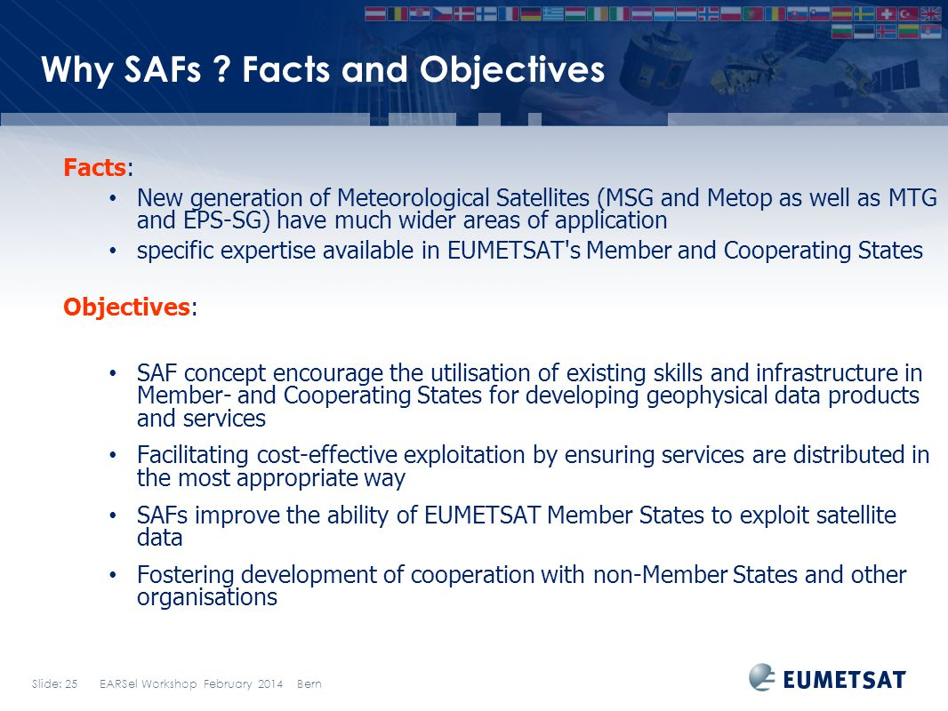 Why SAFs Facts and Objectives