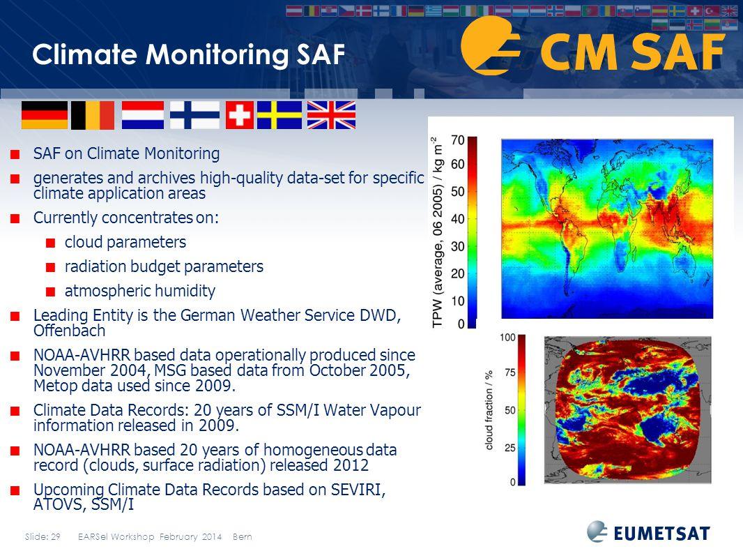 Climate Monitoring SAF