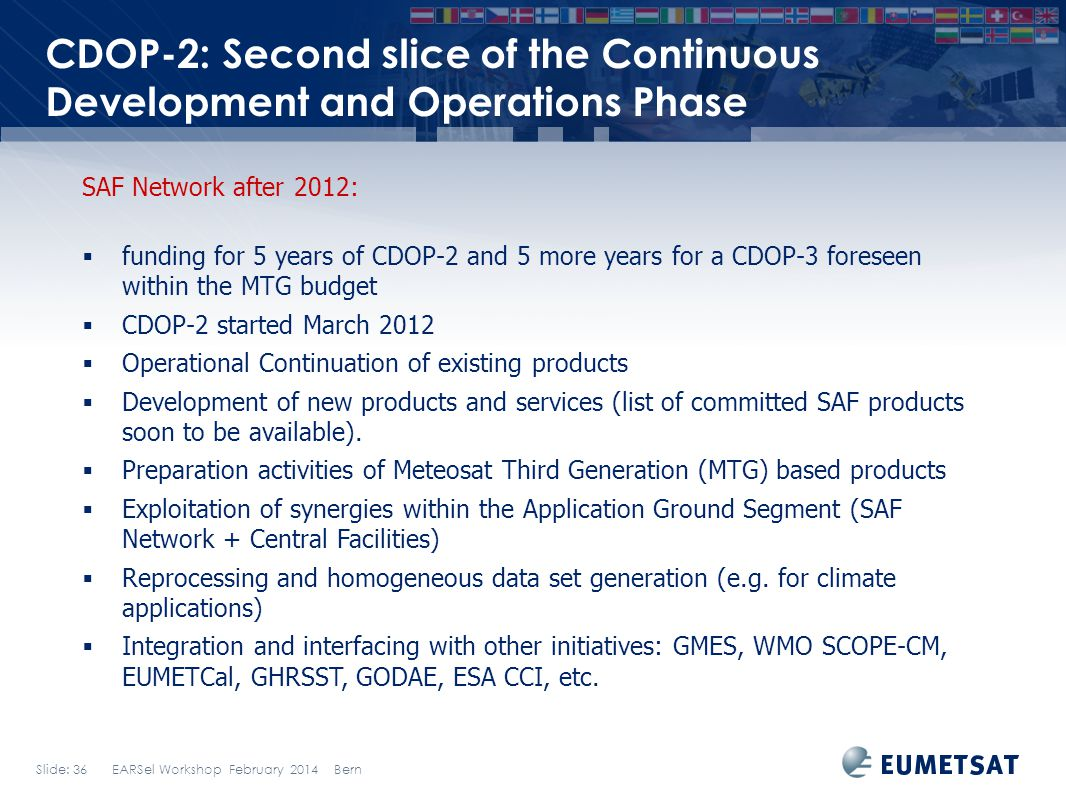 CDOP-2: Second slice of the Continuous Development and Operations Phase