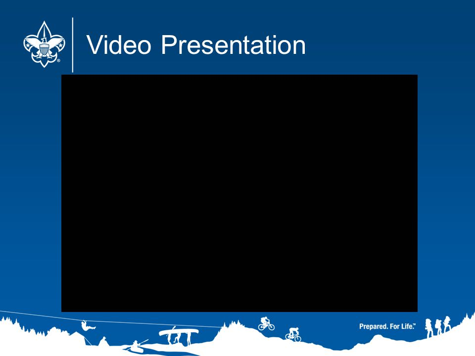 Video Presentation After the video, ask if there are any questions or comments, then resume the slideshow.