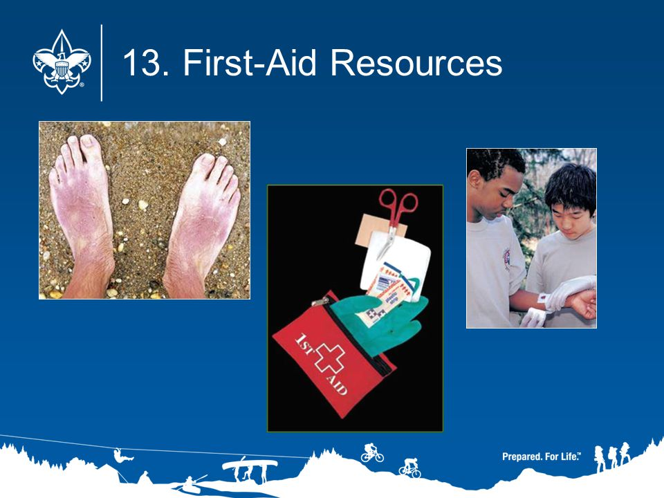 13. First-Aid Resources
