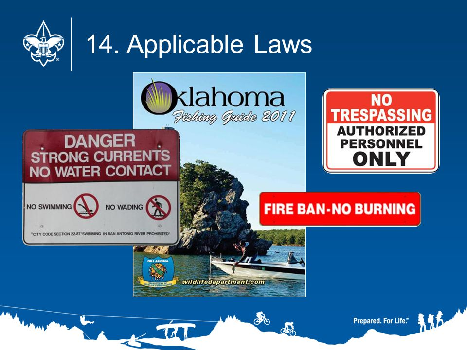 14. Applicable Laws