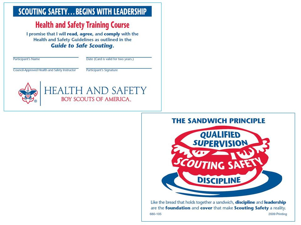 Hidden slide. Front and reverse of course completion card