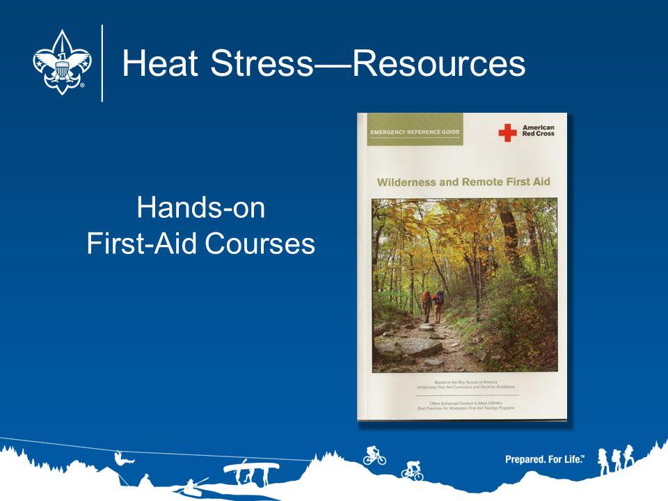 Heat Stress—Resources