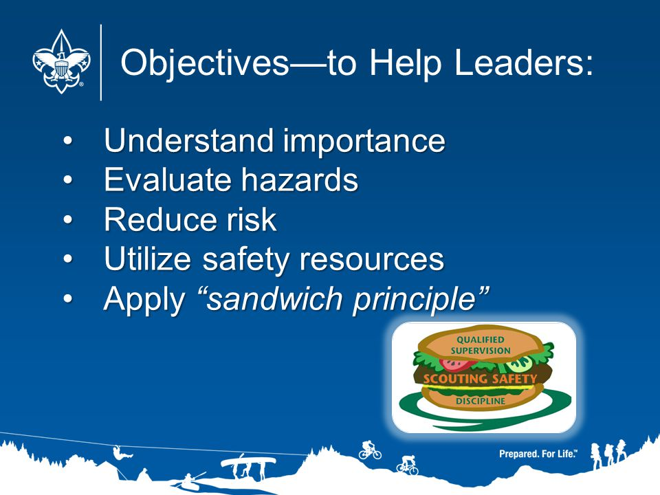 Objectives—to Help Leaders: