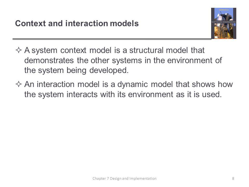 Context and interaction models