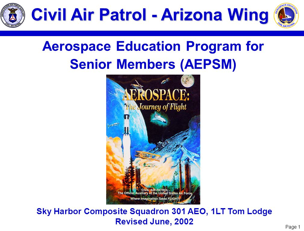 Aerospace Education Program for Senior Members (AEPSM)