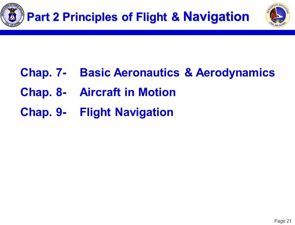 Part 2 Principles of Flight & Navigation