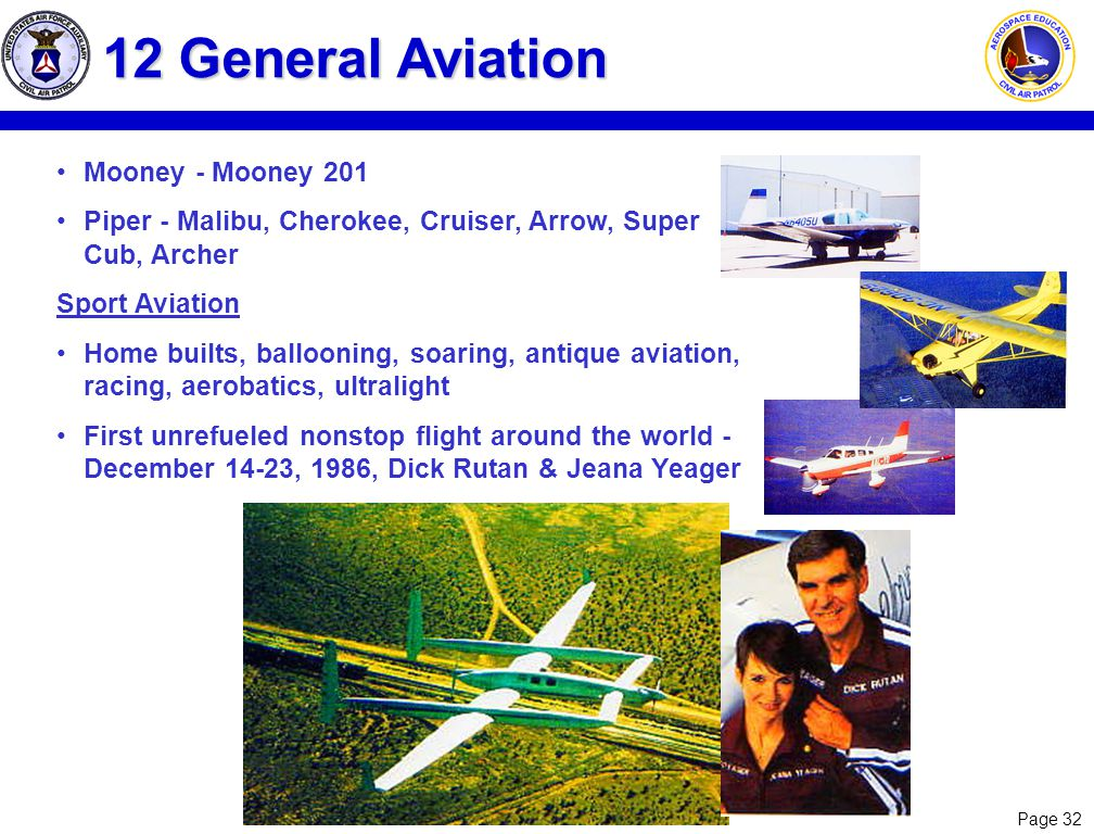 12 General Aviation Mooney - Mooney 201
