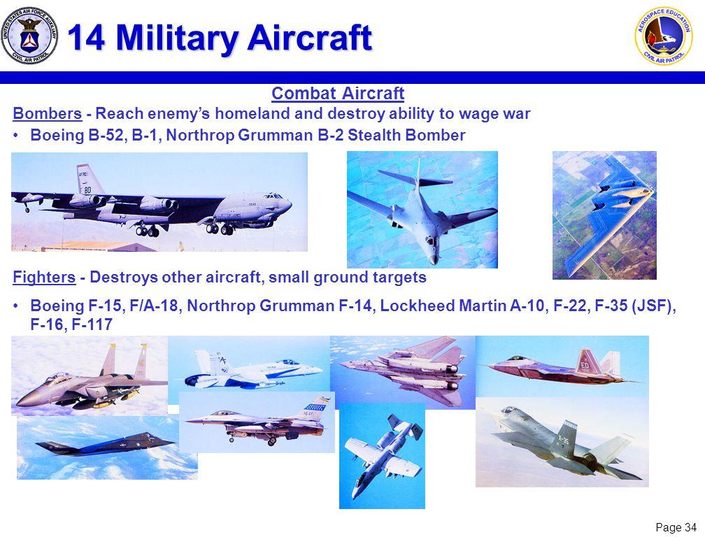 14 Military Aircraft Combat Aircraft