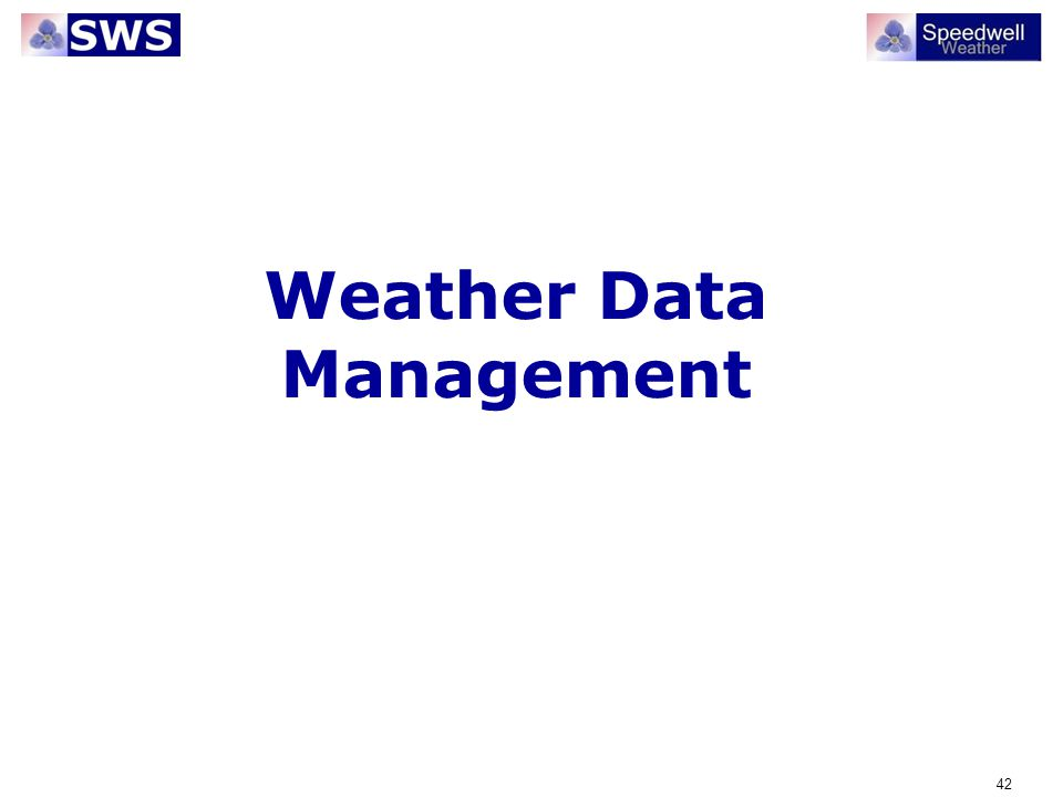 Weather Data Management