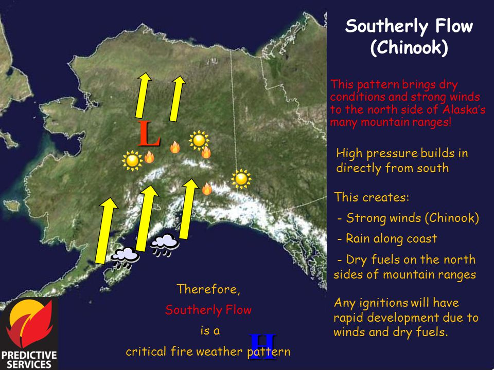 critical fire weather pattern