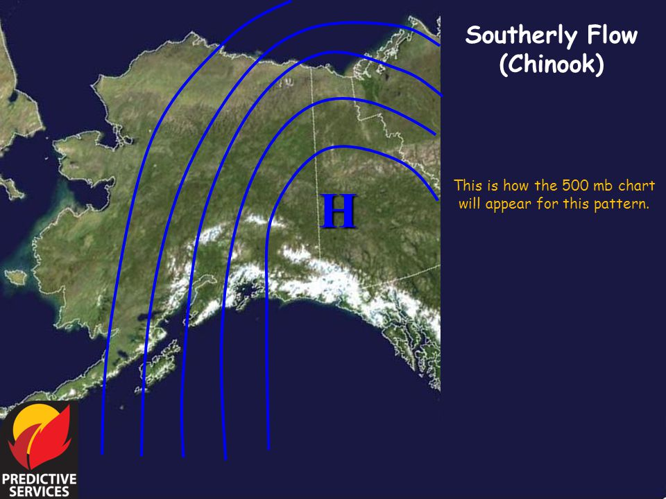 This is how the 500 mb chart will appear for this pattern.