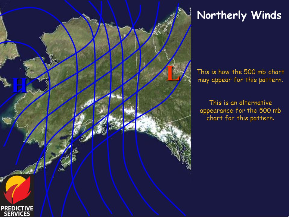 This is how the 500 mb chart may appear for this pattern.