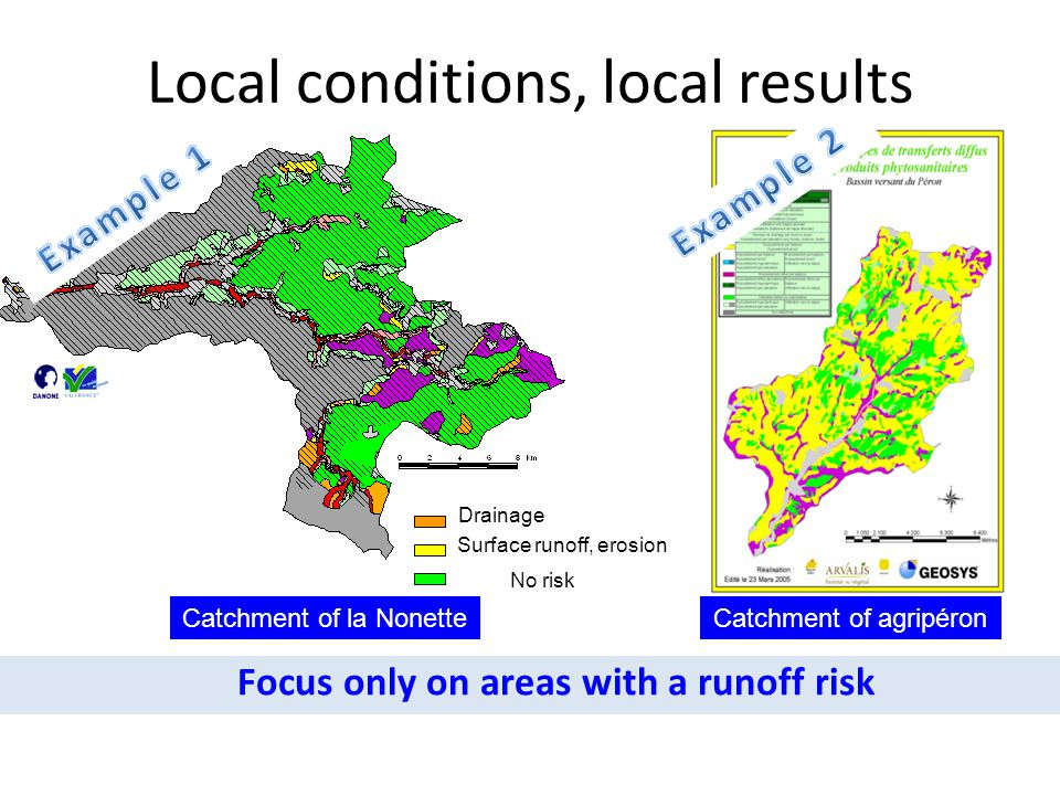Local conditions, local results