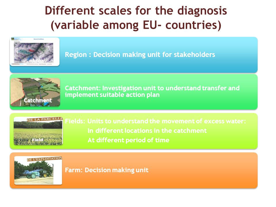Different scales for the diagnosis (variable among EU- countries)