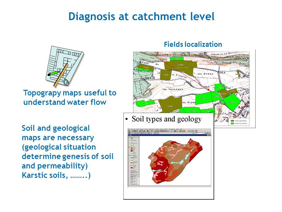 Diagnosis at catchment level