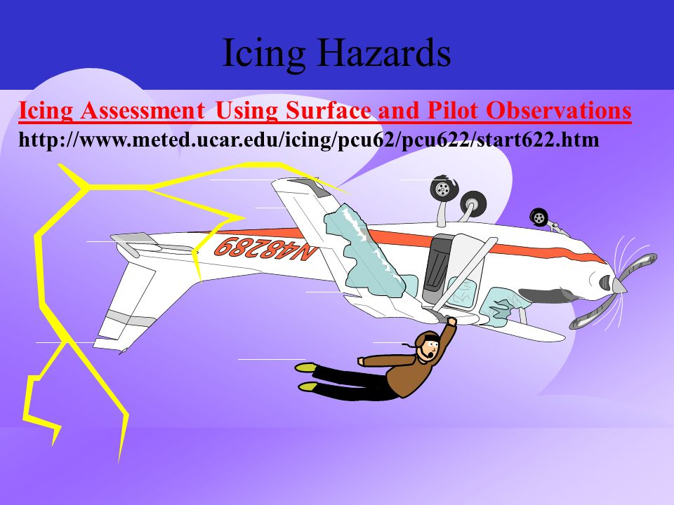 Icing Hazards Icing Assessment Using Surface and Pilot Observations