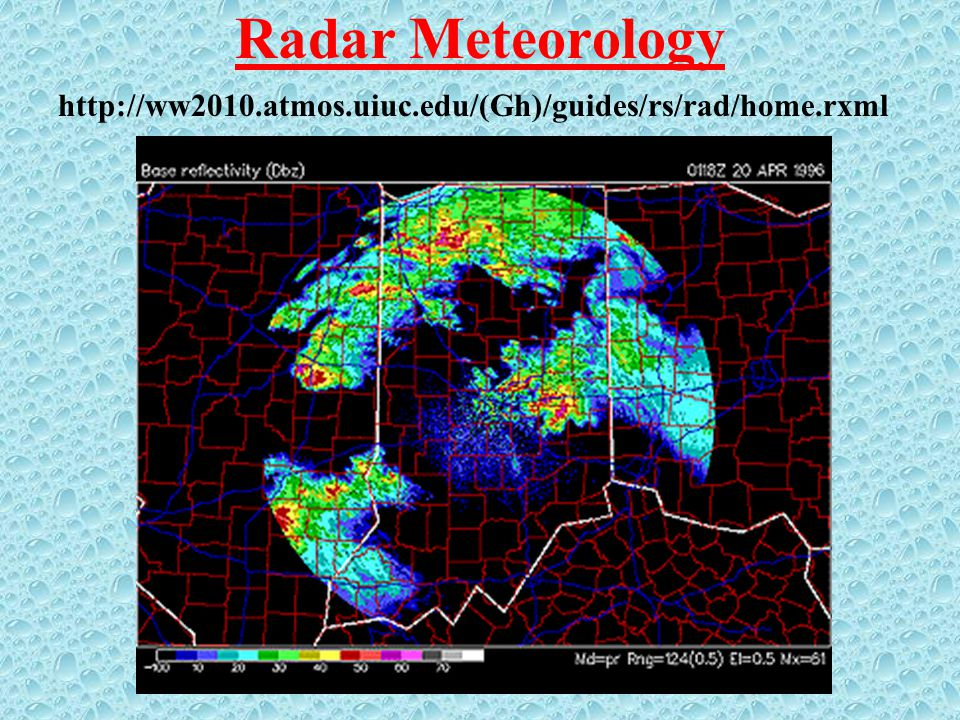 Radar Meteorology http://ww2010.atmos.uiuc.edu/(Gh)/guides/rs/rad/home.rxml