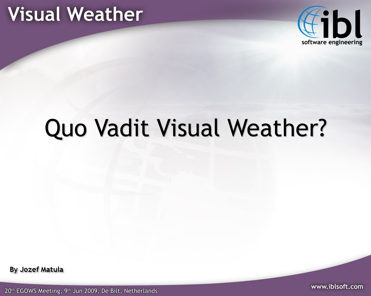 Quo Vadit Visual Weather