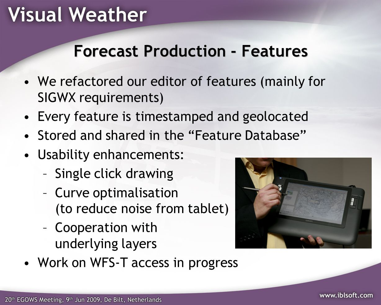 Forecast Production - Features