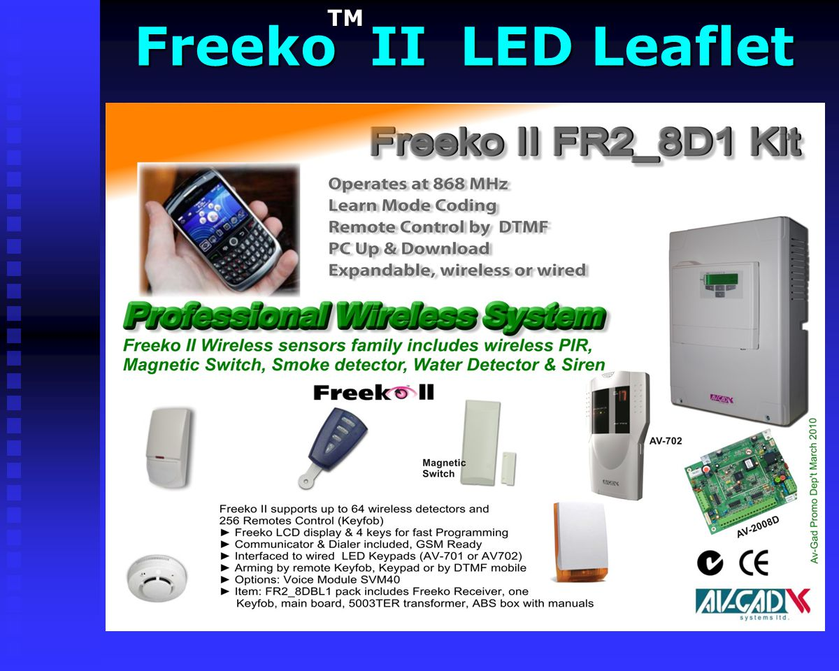 Freeko II LED Leaflet TM