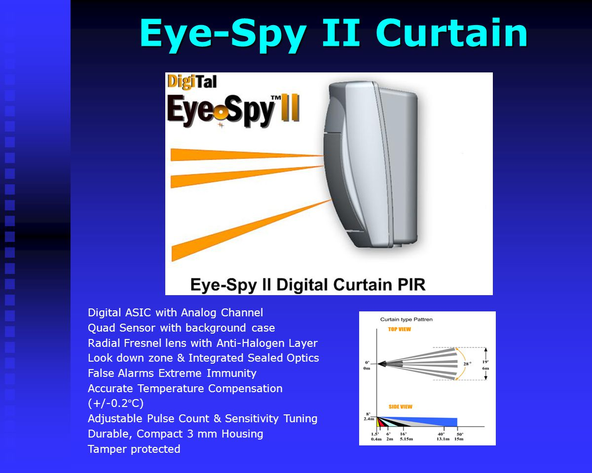 Eye-Spy II Curtain Digital ASIC with Analog Channel