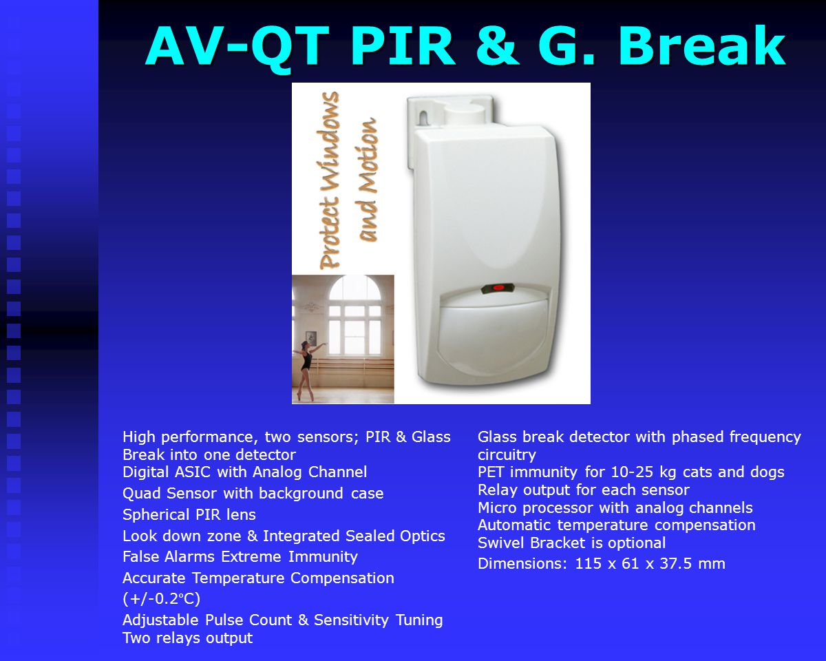 AV-QT PIR & G. Break