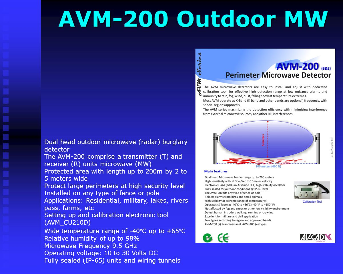 AVM-200 Outdoor MW