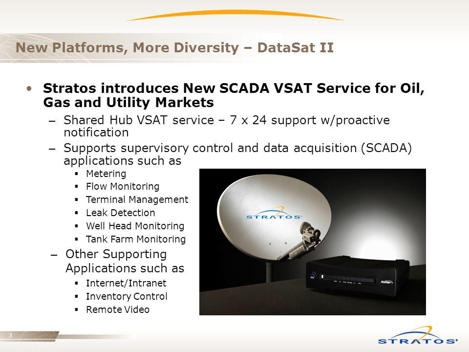 New Platforms, More Diversity – DataSat II