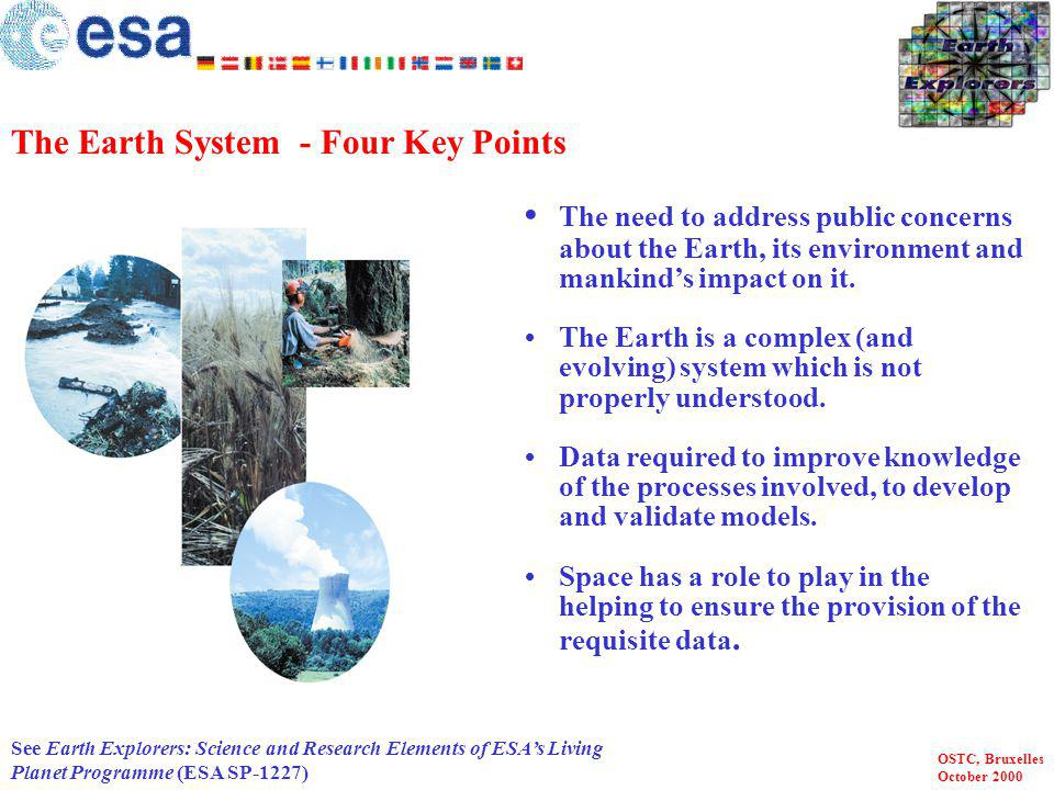The Earth System - Four Key Points