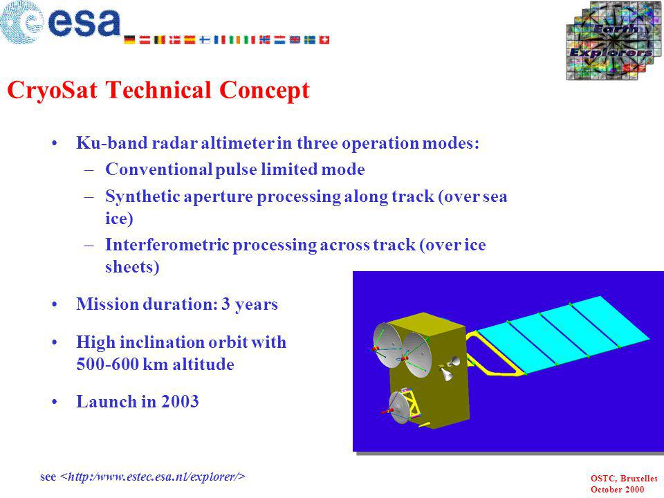 CryoSat Technical Concept