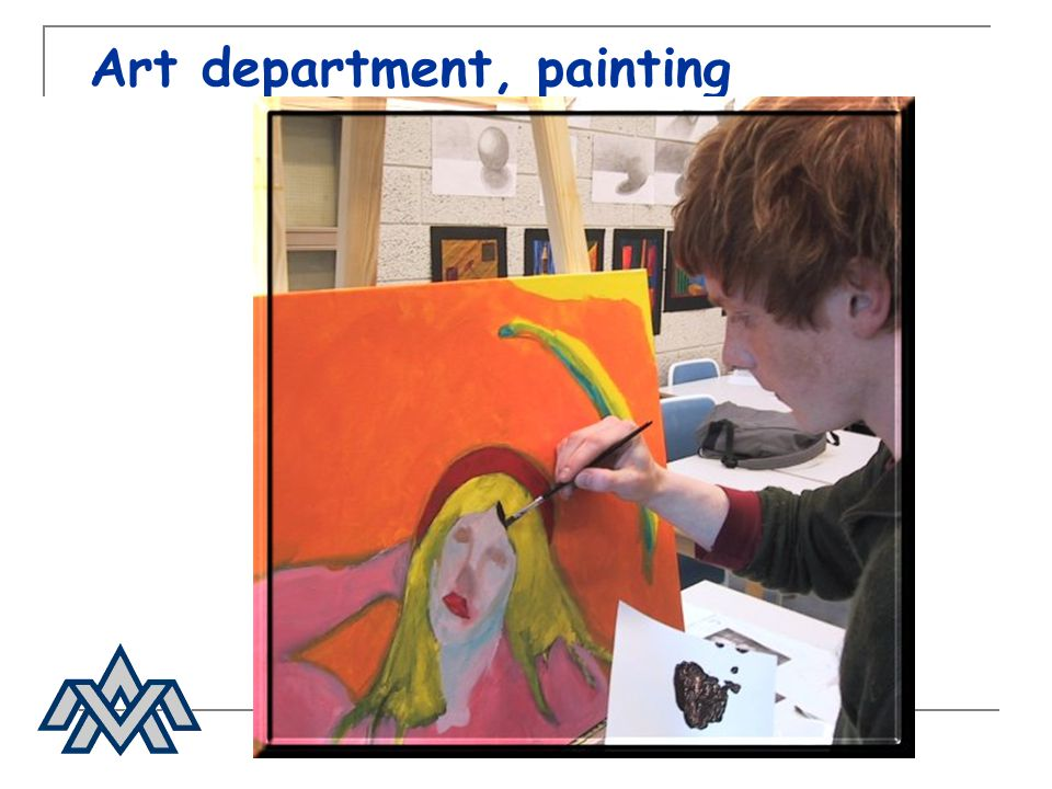 Art department, painting