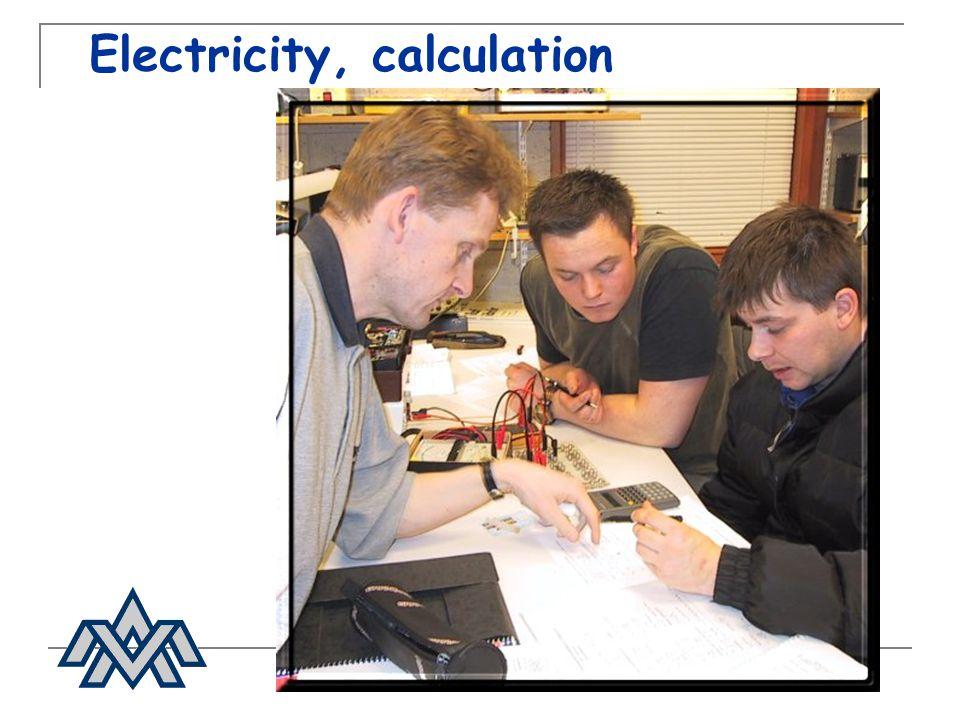 Electricity, calculation