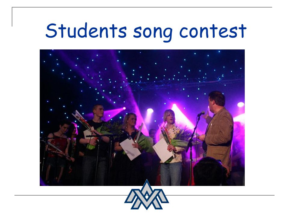 Students song contest