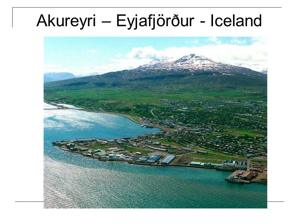 Akureyri – Eyjafjörður - Iceland