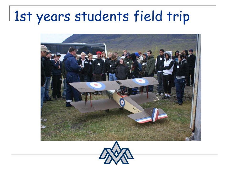 1st years students field trip