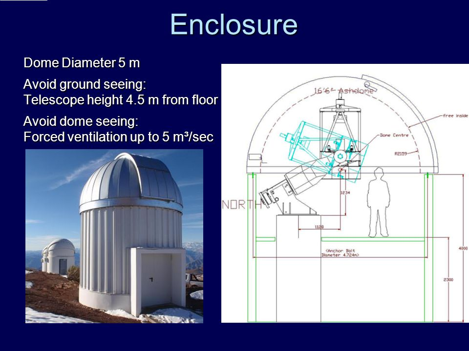Enclosure Dome Diameter 5 m