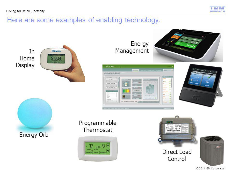 Here are some examples of enabling technology.