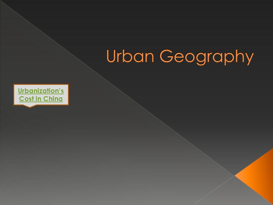 Urbanization's Cost in China