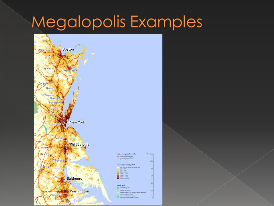 Megalopolis Examples