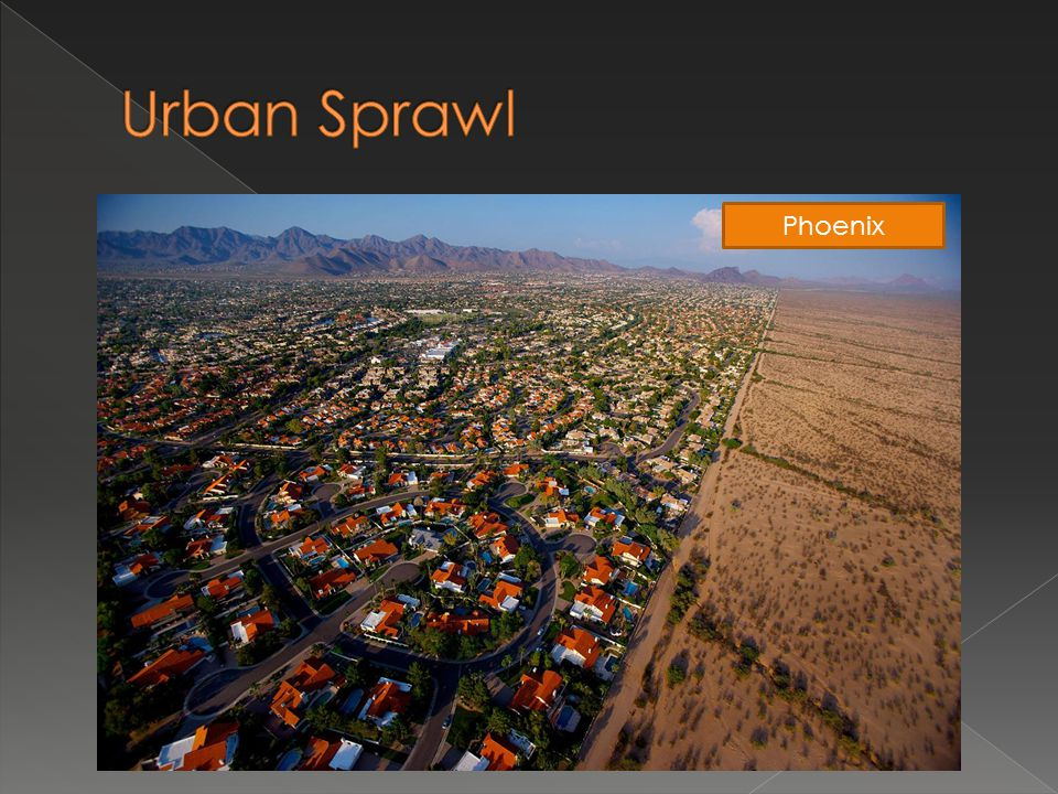 Urban Sprawl Phoenix