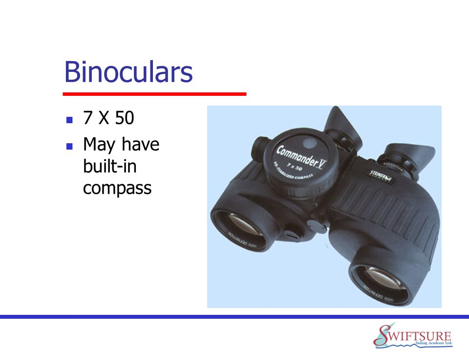 Binoculars 7 X 50 May have built-in compass