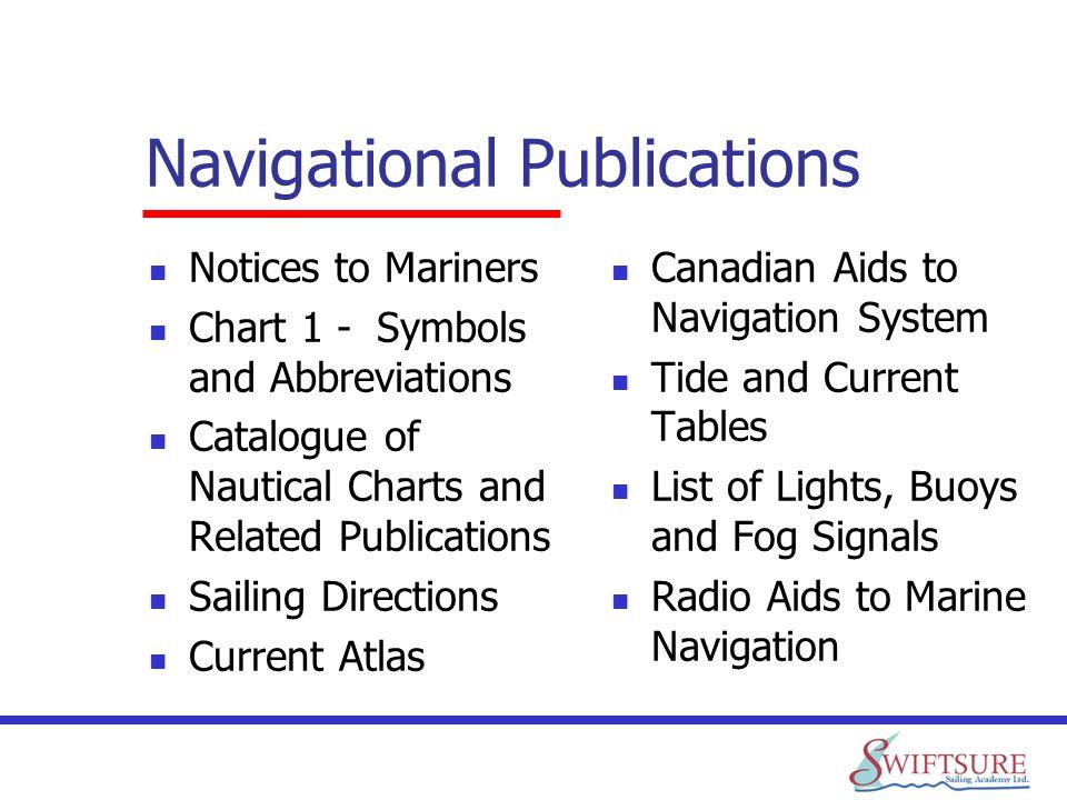 Navigational Publications