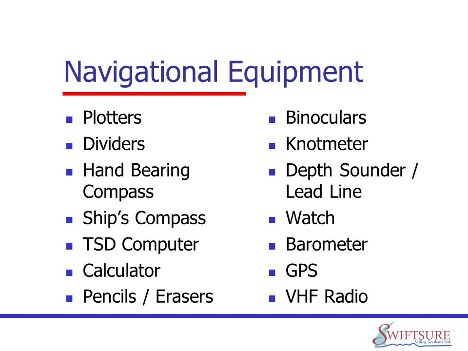 Navigational Equipment