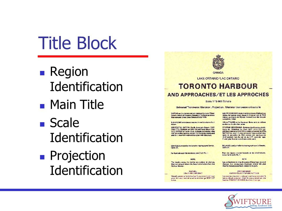 Title Block Region Identification Main Title Scale Identification